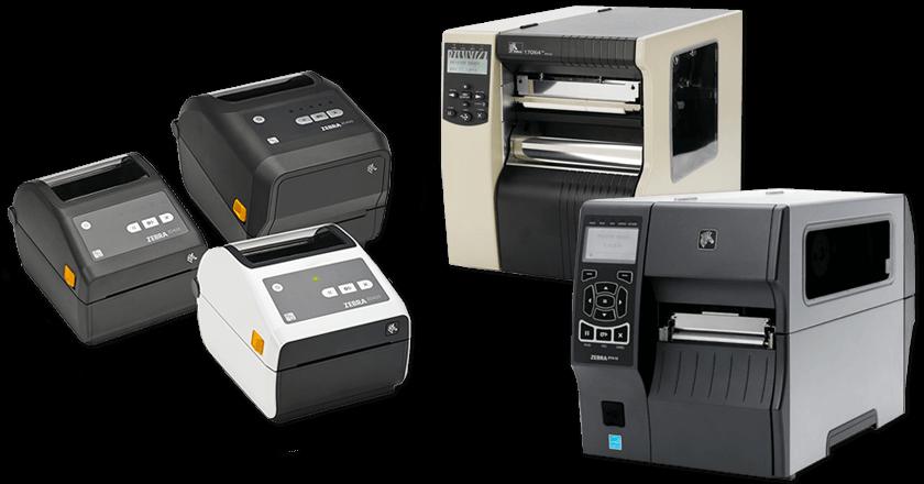 Настольные и промышленные принтеры Zebra