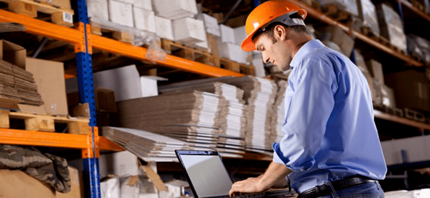 Online warehouse management