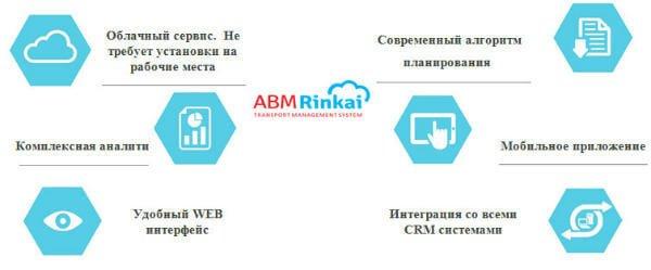 автоматизация транспортной логистики - преимущества системы ABM Rinkai TMS
