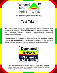 ddp sertificate