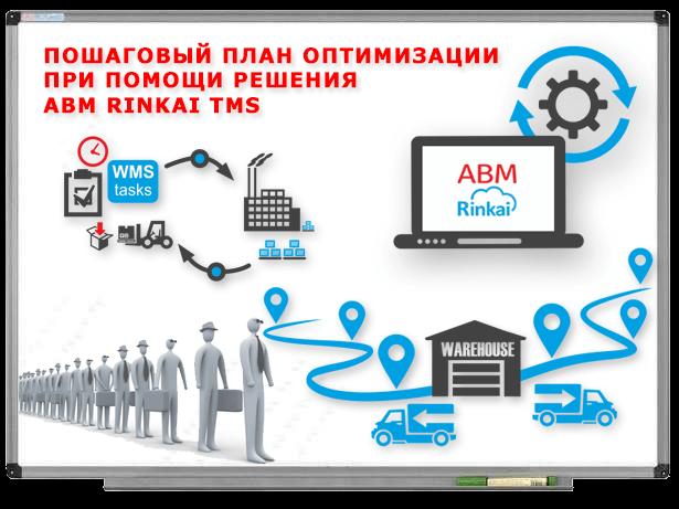 Как уменьшить затраты на доставку товара и оптимизировать маршруты агентов при помощи ABM Rinkai TMS